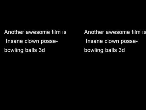 Insane Clown Posse - Bowling Balls