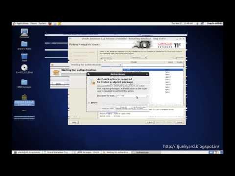Oracle 11g Release 2 64Bit Installation - HD