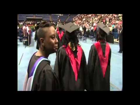 Hephzibah High School graduation (video 2)