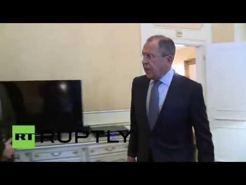 Austria: Lavrov meets Egyptian FM Shoukry on sidelines of Syria talks