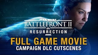 Star Wars Battlefront 2: Resurrection Full Game Movie (Campaign Cutscenes) | 1080P 60 FPS HD