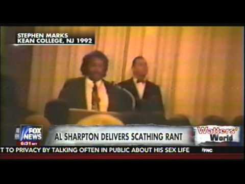 Al Sharpton's 1992 off the pigs video