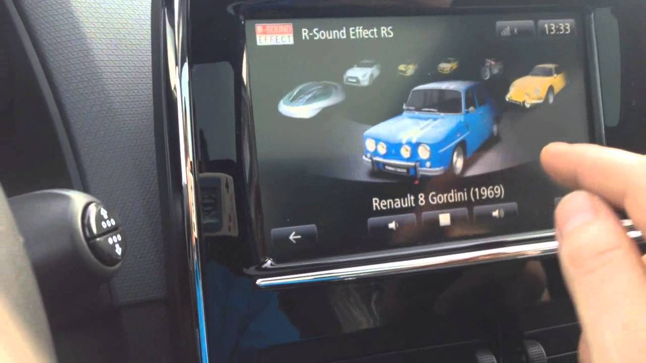 Test Des Soundgenerator Renault Clio Gt 2014  German  R