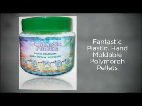 Crafts and Craft Ideas Fantastic Plastic Hand mouldable Polymorph Thermoplastic