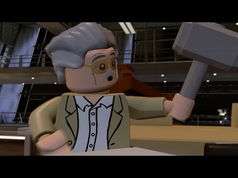 LEGO Marvel's Avengers - All Stan Lee Appearances