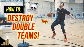How to: EASILY Beat a Double Team in Basketball!