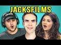 COLLEGE KIDS REACT TO JACKSFILMS