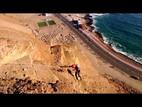 Descenso controlado Morro de Arica Defensa Civil HD