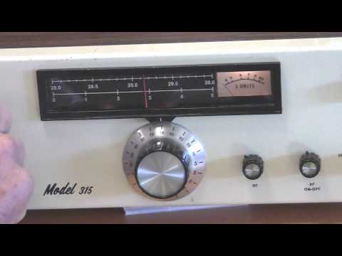 Antique Amateur Radio receiver Ten Tec 315