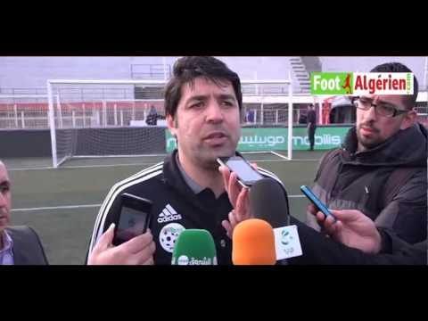 """Mohamed Mekhazni (sélectionneur des U20 algériens) : """"revenir avec la qualif. de Nouakchott"""""""