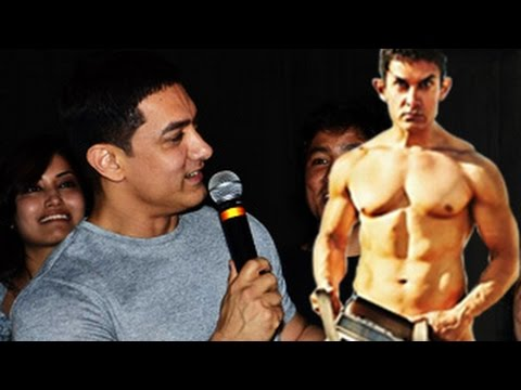 Aamir Khan Talks About PK Naked Poster | Aamir Khan Anushka...
