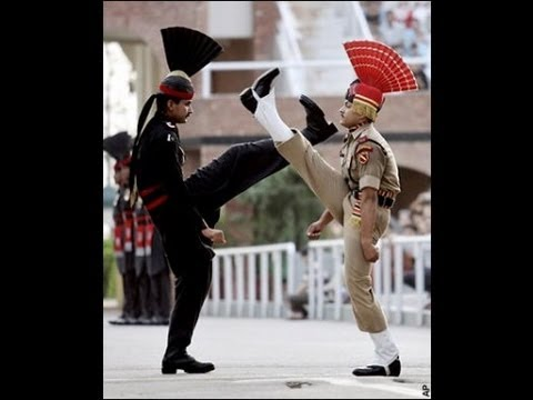 Parade At Wagah Border (the True Feeling For The Nation Comes From Here ) video