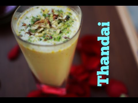 Thandai | Indian Summer Drink | Holi Special