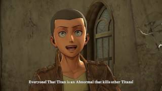Attack on Titan : Wings of Freedom [Walkthrough][P3]