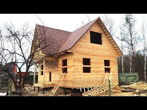 Строительство дома из бруса, Московская область, Электрогорский район