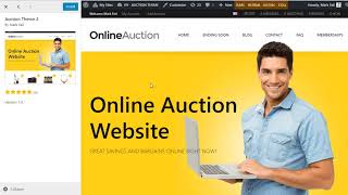 Setup your own auction website with AuctionPress.