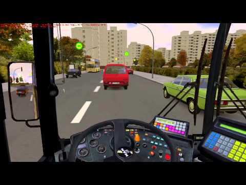 OMSI The Bus Simulator - 92E U Rathaus Spandau to Reimweg Autumn HD