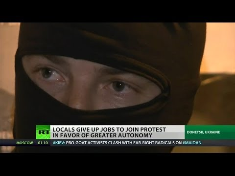 Locals in eastern Ukraine hope for better futures after unrest