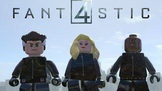 Lego Marvel Superheroes Fantastic Four 2015 Movie Variant Custom Characters