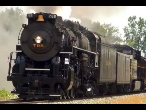 Steam Train - Nickel Plate Road 765