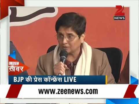 Kiran Bedi to fight Delhi polls on BJP ticket