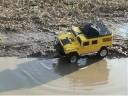 RC Hummer - Off-road - Posledni letosni bahneni (kratka v.)
