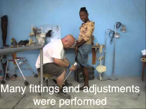 Prosthetic mission trip to Haiti, Living Water Children's Centre Fund