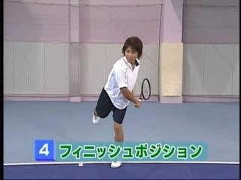 テニス絶対上達法 テニスワンポイントレッスン Lesson6 サーブ