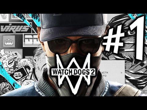 WATCH DOGS 2 - Parte 1: Marcus Holloway Hackeia Até A Mãe! [ Playstation 4 - Playthrough ]