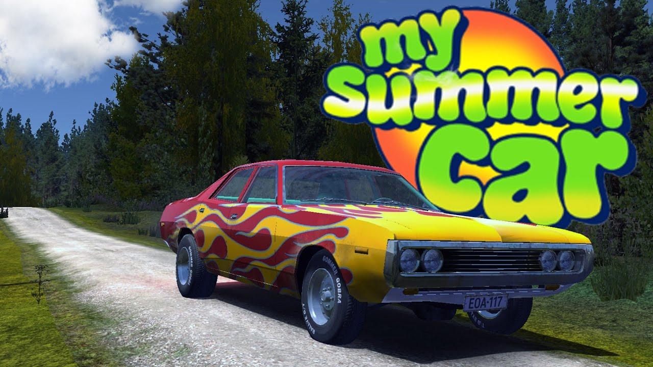 Почему машина не заводится в my summer car 77