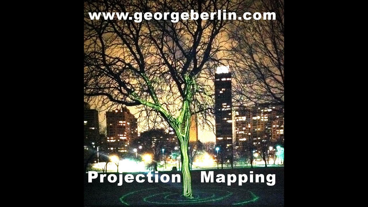 Projection Mapping Trees Projection Mapping on Trees