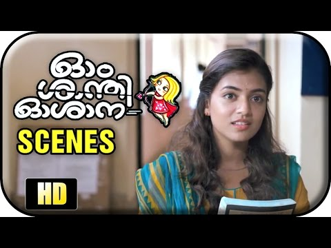 Om Shanti Oshana - Nazriya Nazim Meets Nivin Pauly In Hospital video