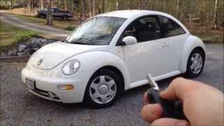 2001 Volkswagen Beetle 2.0 GLS 5-spd Walkaround, Start up and Tour
