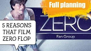 Why Zero Movie Underperformed | Full master planning