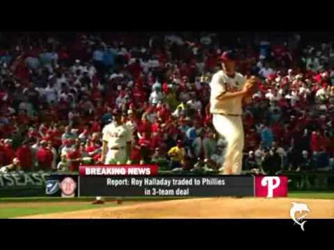 Roy Halladay and Cliff Lee 3 team trade