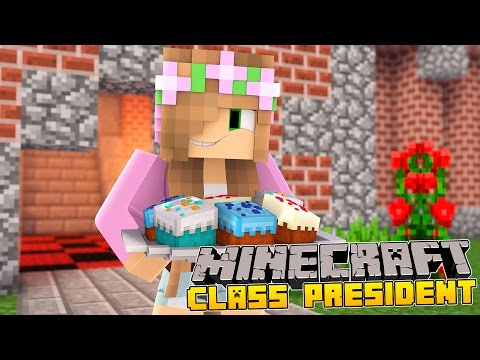 Minecraft School - LITTLE KELLY BECOMES CLASS PRESIDENT!