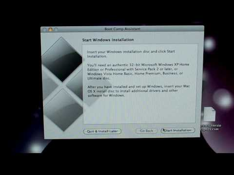 How to install Windows 7 on 27