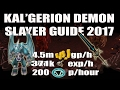 [Runescape 3] Kal'gerion Demon Slayer Guide 2017: Great Slayer exp + Profit!