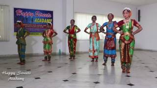 Hindolam dance performance by Happy streets Arts & dance Academy