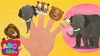 Finger Family - Animals | Nursery Rhymes & Kids Songs - ABCkidTV