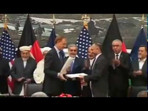 U S  signs pact to keep troops in Afghanistan past 2014