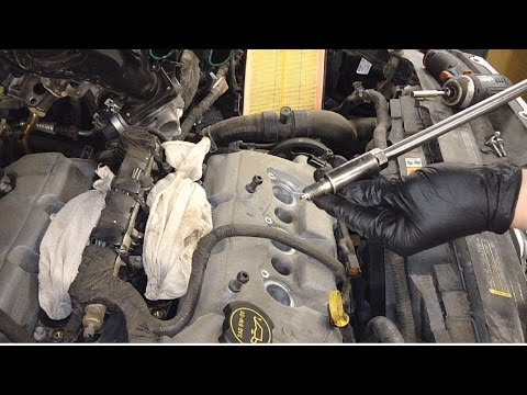Ford Fusion 3.0L DOHC Spark Plug Replacement