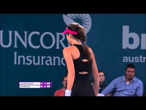 Ana Ivanovic's Best Shots of 2015