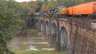 🍊 CSX Tropicana Juice Train With Mid-Train DPU 🍊