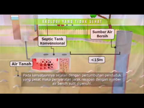 septic tank biofil, cara pasang septik tenk biofil, biopil, ramah lingkungan, biotech