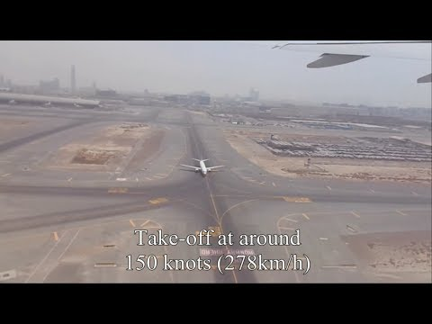 Spectacular Take-Off From The Dubai International Airport!!!!