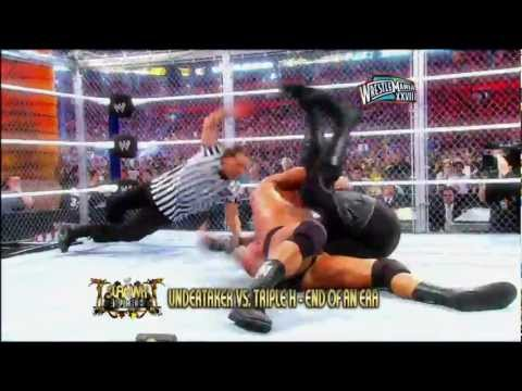 2012 WWE Slammy Nominees - Match of The Year