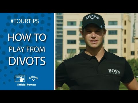 How to play from divots with Thomas Detry | Callaway Tour Tips