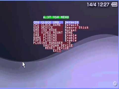 PSP Tutorial How to Upgrade version 5.50 GEN-D3 to 6.37 ME-8 No Pandora