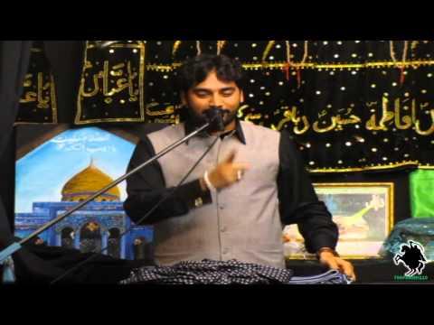 Zakir Waseem Abbas Baloch - Imam Hassan (a.s.) Shahadat Majlis - 1st Rabi-ul-awal 1434 - Northampton video